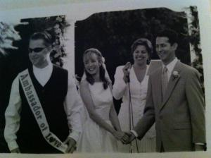 When Malayna married Stacy...to Juan. 1997