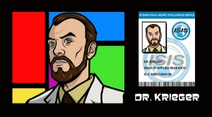 Dr Krieger from Archer Fan Site