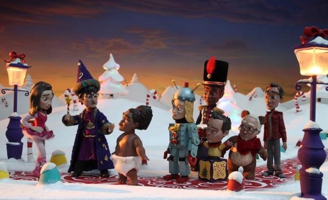 Community : Abed's Uncontrollable Christmas (Image borrowed from SassyIrishLassie.com!)