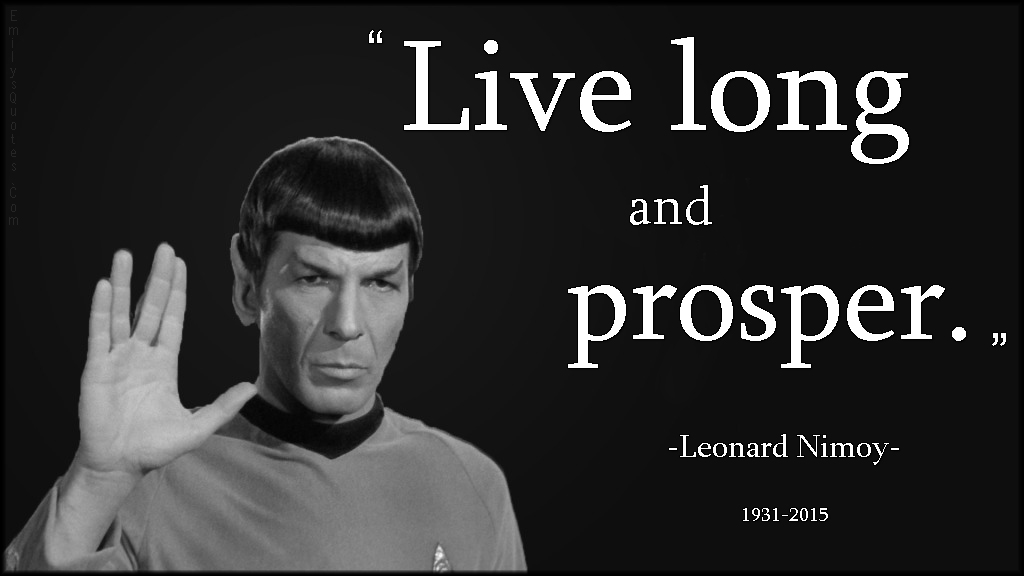 Spock Quotes Live Long And Prosper: Creativity As Spiritual Practice